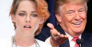Kristen Stewart habló de la extraña obsesión de Donald Trump con ella años atrás