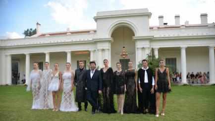 Saiach, el diseñador favorito de las argentinas, trajo su colección a Córdoba