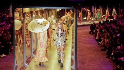 Una sensación: todo sobre el desfile de Gucci en Milán