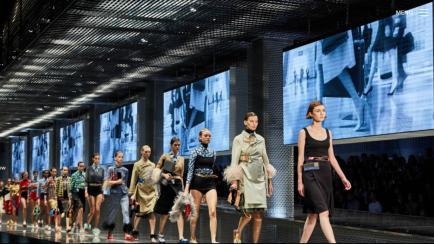 El gran desfile de Prada en la Semana de la Moda de Milán