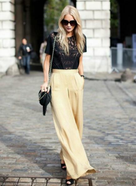Cómoda y chanchera: mirá estos looks y animate a los pantalones oversize