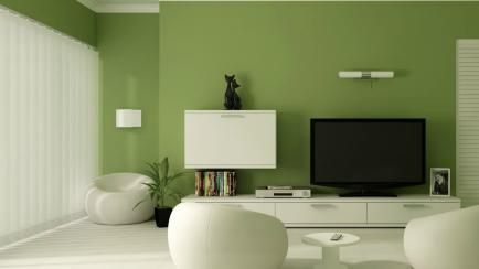 Color esperanza: el verde se impone en la decoración de interiores