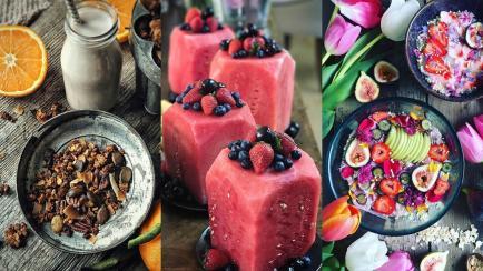 Inspiraciones para hacer (muy) tentadores los alimentos saludables