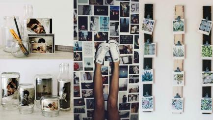 Propuestas creativas para decorar con fotos
