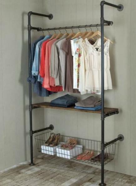 Ideas para mejorar tu vestidor de forma simple y barata