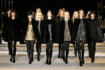 3 macro-tendencias que dejó Hedi Slimane en Saint Laurent