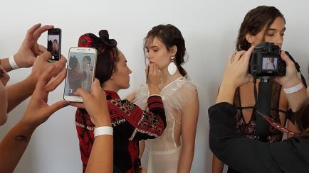 Mirá cómo creó los looks de Sép7imo la maquilladora de Cirque du Soleil