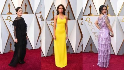 Por qué las mejicanas ganaron en la alfombra roja de los Premios Oscar