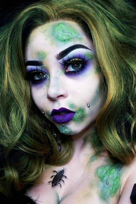 ¡Inspiración para Halloween! Ideas de maquillaje para lucir el mejor disfraz