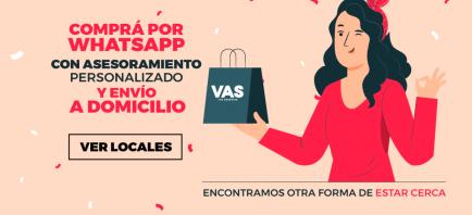 Venta por WhatsApp y delivery: la nueva forma de atención de VAS shopping