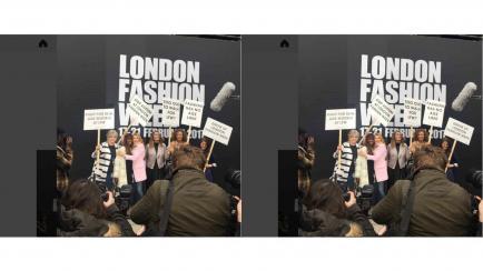 Más de 100 modelos critican la industria de la moda usando un hashtag