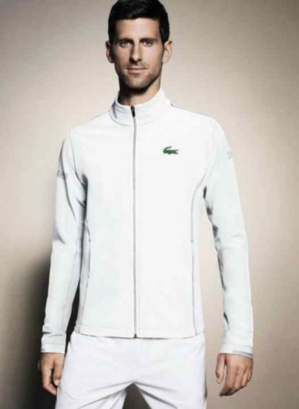 Divertida (y especial) campaña de Novak Djokovic para Lacoste