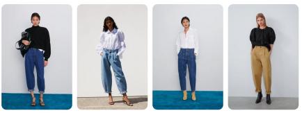 El corte de jean de moda para este otoño-invierno