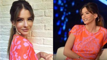 China Suárez con Susana: Todo sobre su look