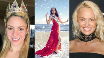 Shakira, Pamela Anderson y Miss Francia: tres looks que generaron polémica