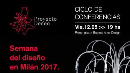 Diseño argentino de mobiliario: cuatro conferencias gratuitas en Buenos Aires