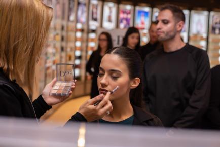 Patio Olmos presentó los nuevos maquillajes inclusivos de Dior