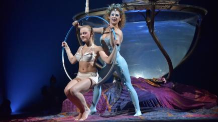 Cómo hicieron el vestuario, peinado y maquillaje de Amaluna, del Cirque du Soleil