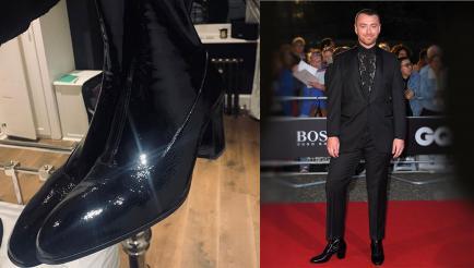 Más que unas simples botas: el significativo posteo de Sam Smith sobre su look de alfombra roja
