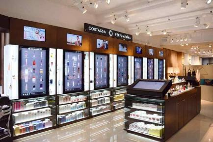 ¿Cómo es una perfumería tecnológica en Argentina?