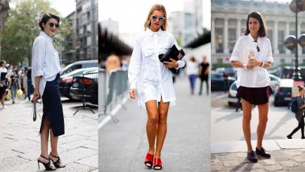 9 formas de sacarle el jugo a tu camisa blanca