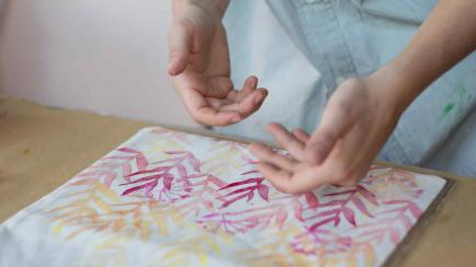 Taller: aprendé a estampar artesanalmente