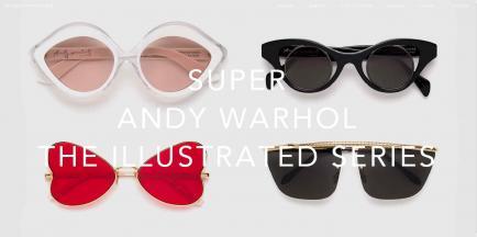 Lanzan colección de lentes de Andy Warhol
