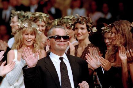 El mundo de la moda llora la muerte de Karl Lagerfeld