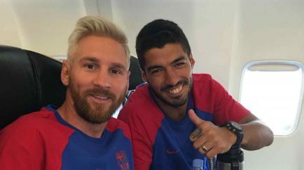 El nuevo look de Messi: detalles de su platinado