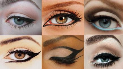 10 maneras fáciles y originales para delinear tus ojos en cinco minutos (video)