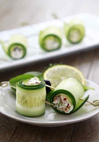 30 snacks saludables para el verano
