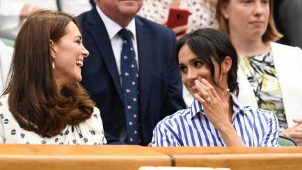 Kate Middleton y Meghan Markle dieron cátedra de moda en Wimbledon