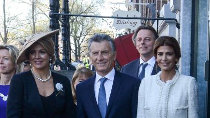 Duelo de stilettos: así lucieron Máxima y Juliana Awada en Holanda