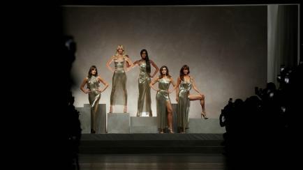 No les pasa el tiempo: modelos top de los ´90 volvieron a desfilar juntas
