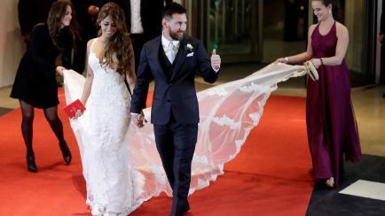 ¡No tan caros! El precio argentino de los vestidos de novia de la diseñadora de Antonela Roccuzzo