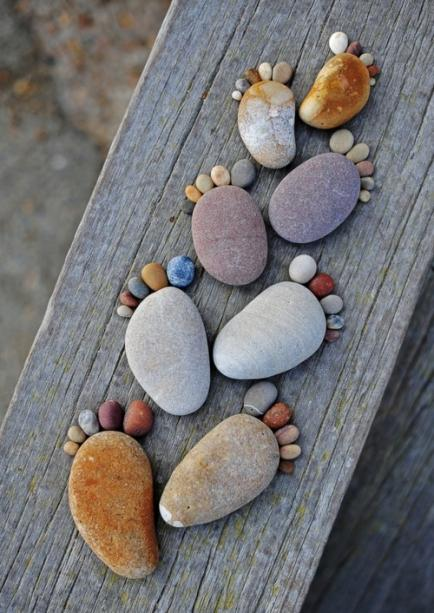 9 ideas deco con piedras