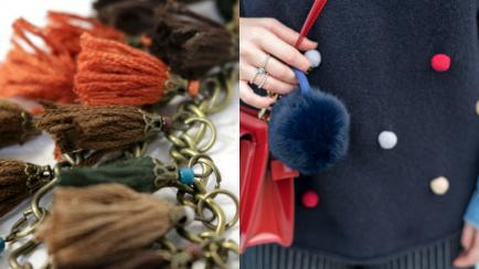 Flecos y pompones para tu look de invierno