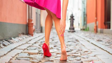 In red: Buenas opciones de zapatos colorados