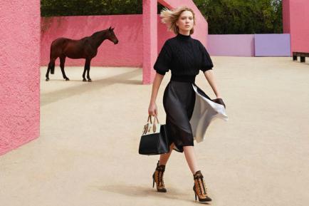 Las celebrities acaparan las campañas de las marcas de lujo