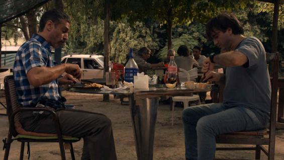 Hendler es Cetarti y Leonardo Sbaraglia interpreta a Duarte, un personaje oscuro.