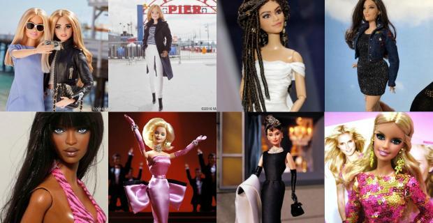 Muñecas inspiradas en modelos e íconos de la moda