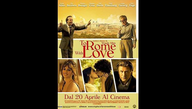 Poster oficial del nuevo filme de Woody Allen.