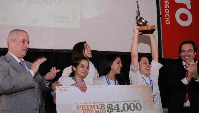 El equipo de Azur Real Hotel Boutique fue el ganador del Torneo Córdoba Cocina.