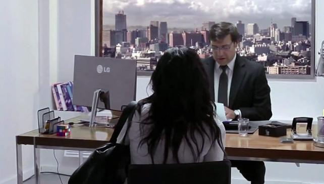Video viral la genial c mara oculta que lg hizo en chile for Camara oculta en la oficina