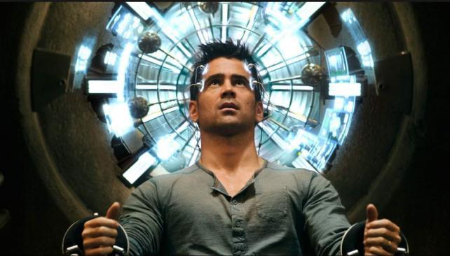 Colin Farrell es el obrero devenido espía Douglas Quaid en la nueva 'El vengador del futuro'.