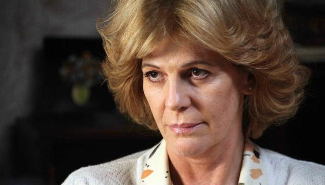 Susú Pecoraro interpreta a Estela de Carlotto.