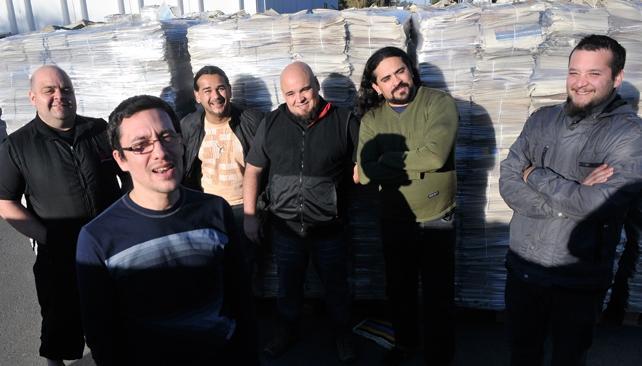 Los integrantes de La Callejera presentan 'Baila país'.