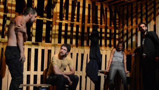 Rafael Rodríguez, Rodrigo Fonseca, Julieta Daga y Marcos Cáceres protagonizan 'La persistencia'.