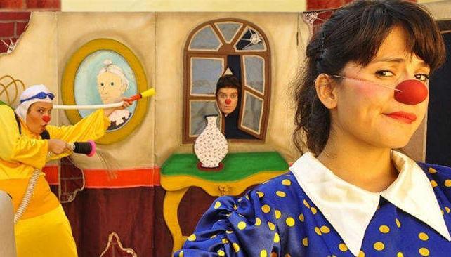 'El fantasma de Clownterville', del grupo Egos, se verá en el escenario de la Ciudad de las Artes, el domingo.