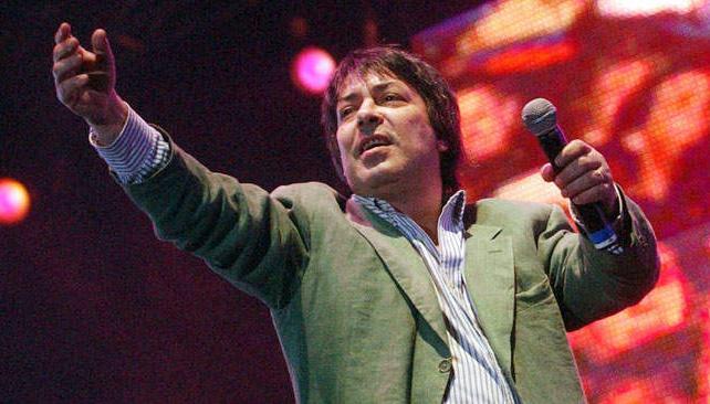 ADRIÁN OTERO. En un show en vivo del 2008. Foto: Télam.